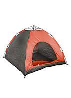 Палатка на 4 персоны Tent 210х210х140см Черный, Красный