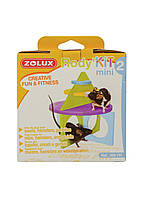 Игрушка для хомяка Zolux 12х12см Голубой, Салатовый, Фиолетовый