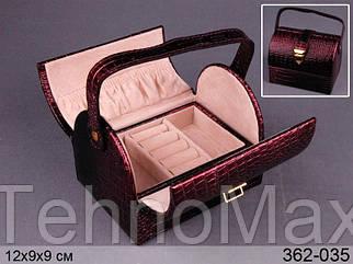 Шкатулка для украшений Lefard 12х10х10 см 362-035