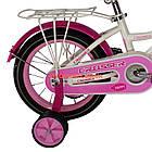 Детский велосипед Crosser Happy 14 дюймов бело-розовый, фото 6