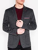 Мужской Мужской кэжуал пиджак P112 - dark grey Темно-серый, 50