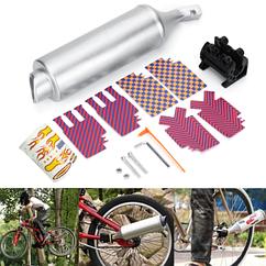 """Глушитель / резонатор / имитация звука мото Turbospoke """"MOTOCARD"""" для детского велосипеда T500 / T250 / T100"""