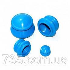Банки силиконовые вакуумные для массажа, фото 3