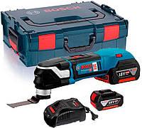 Многофункциональный инструмент Bosch GOP 18V-28 + з/у AL 1880 CV + 2 x акб GBA 18V 5 Ah + чемодан L-boxx (06018B6004)