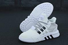 Мужские кроссовки AD EQT  White. ТОП Реплика ААА класса.