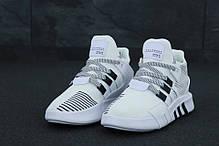 Мужские кроссовки AD EQT  White. ТОП Реплика ААА класса., фото 2