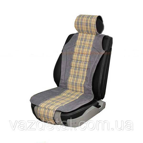 Накидка на сидения VITOL CU 1200 (2шт) Grey