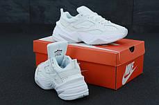 Женские кроссовки Nike M2K Tekno White leather, фото 3