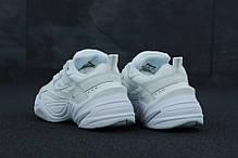 Женские кроссовки Nike M2K Tekno White leather, фото 2