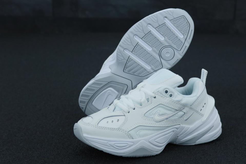 Женские кроссовки Nike M2K Tekno White leather