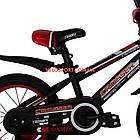 Детский велосипед Crosser Sports 14 дюймов черно-красный, фото 5