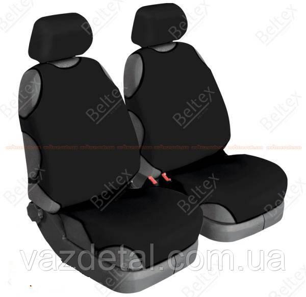 Майки BELTEX Cotton передние черные