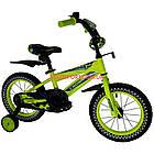 Детский велосипед Crosser Stone 14 дюймов желтый, фото 2