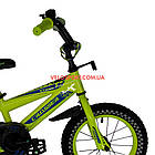 Детский велосипед Crosser Stone 14 дюймов желтый, фото 3