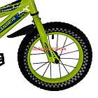 Детский велосипед Crosser Stone 14 дюймов желтый, фото 4