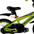 Детский велосипед Crosser Stone 14 дюймов желтый, фото 5