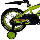 Детский велосипед Crosser Stone 14 дюймов желтый, фото 6