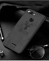 Чехол Deer для Xiaomi Redmi 6 бампер накладка Black