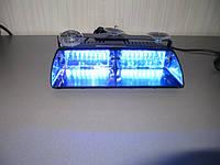 Стробоскопы на лобовое стекло синий Viper S2 , фара вспышка.