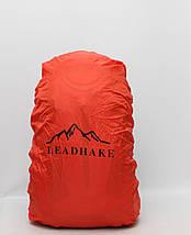 Туристичний дорожній рюкзак Lead Hake з металевим каркасом + дощовик / Туристический дорожный с металлическим, фото 2