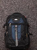 Туристический дорожный рюкзак 50-65 листров с отделом под ноутбук, фото 2