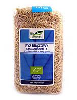 Рис длинный коричневый Bio Planet 500 г