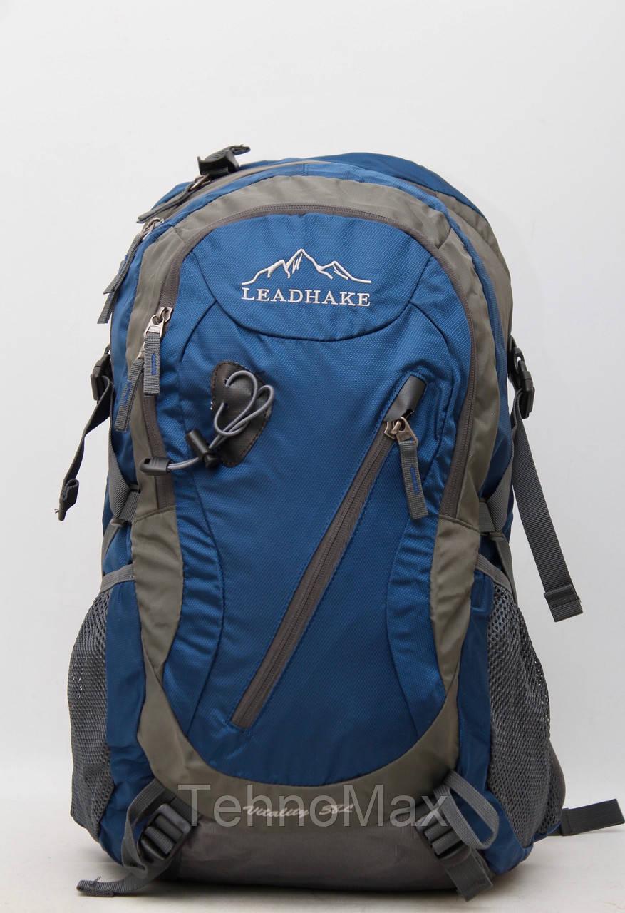 Туристический рюкзак Lead Hake 38 литров / 38L с металлическим каркасом + чехол- дождевик