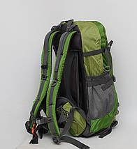 Туристичний дорожній рюкзак з металевим каркасом + дощовик /  Туристический дорожный металлическим +, фото 2