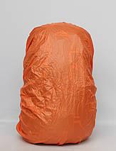 Туристичний дорожній рюкзак з металевим каркасом + дощовик /  Туристический дорожный металлическим +, фото 3