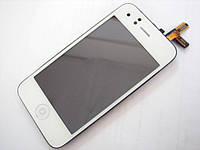 LCD дисплей iPhone 3G, 3GS white (белый)
