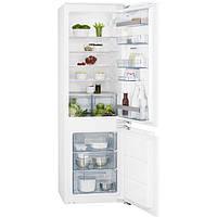 Встраиваемый холодильник с морозилкой AEG SCS61800F1