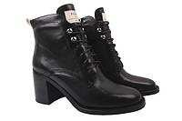 Ботинки Basconi натуральная кожа, цвет черный
