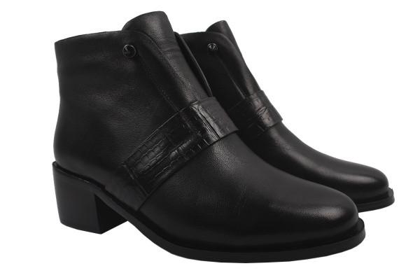 Ботинки Belorddini натуральная кожа, цвет черный