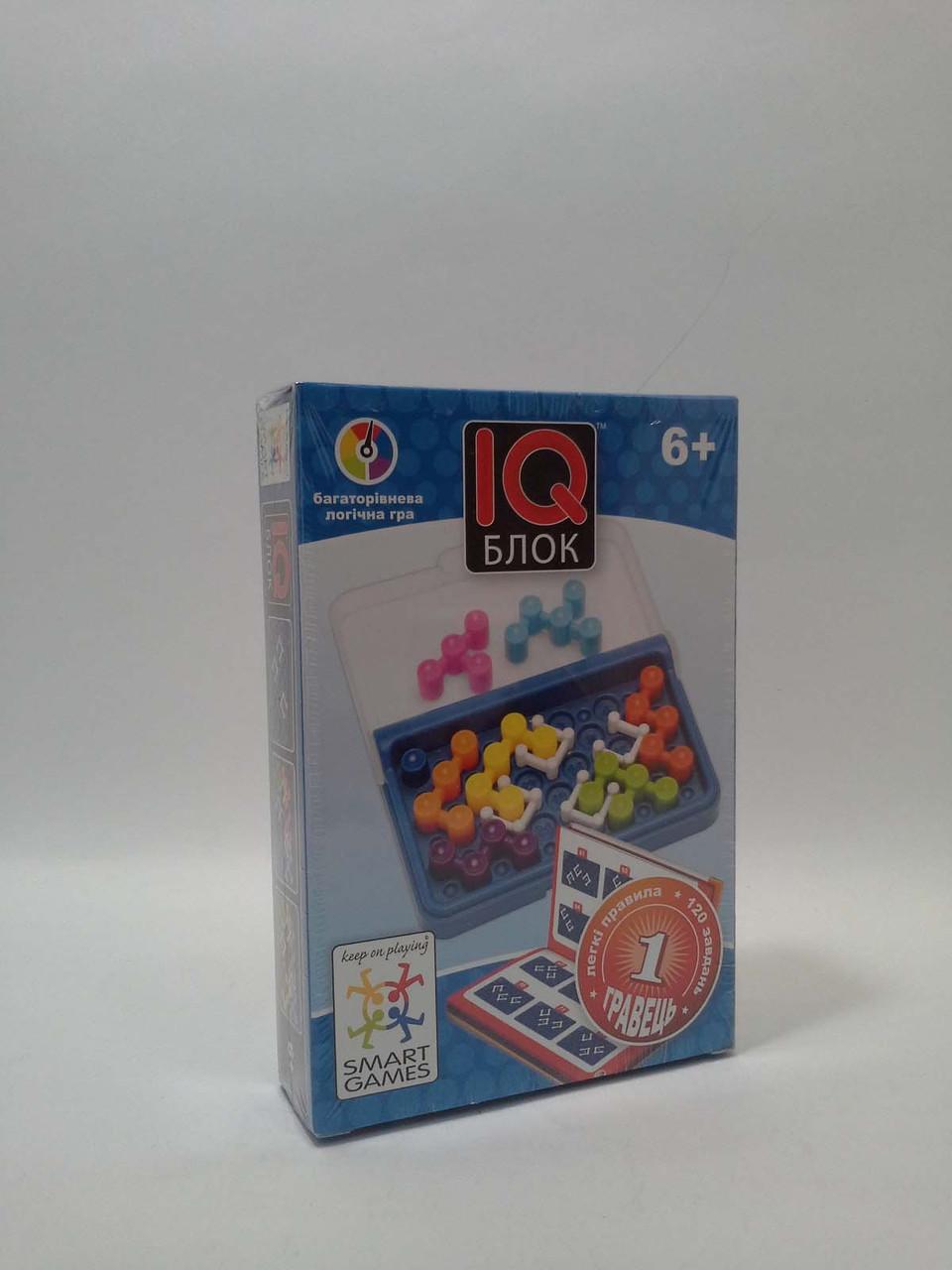ИграНастол СМАРТ IQ блок [6+ лет] Багаторівнева логічна гра