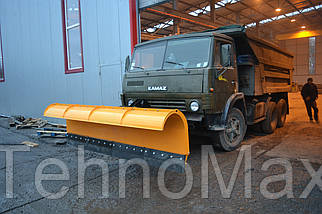 Отвал для уборки снега для автомобиля АВС-3000