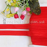 Резинка для повязок (эластичная бейка), 1,5 см, красная