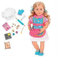 Набор Our Generation DELUXE Кукла 46 см Джен с одеждой и аксессуарами BD31173Z