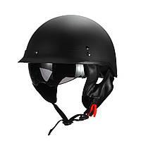Мотоцикл Ретро Винтаж Полуоткрытое лицо Шлем Солнцезащитные козырьки Быстрый американский стиль - 1TopShop