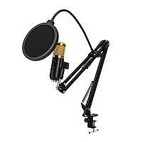 Регулируемая трансляция Подкастинг Микрофон Громкость шумоподавления Конденсатор KTV Audio Studio Recording Микрофон - 1TopShop