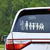 Наклейки в машину Семья Звездные Войны