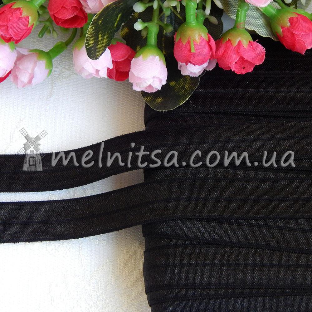 Резинка для повязок (эластичная бейка), 1,5 см, черный