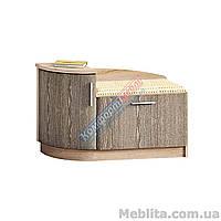 Тумба с мягким сидение левая 1020 мм Д-4791-Комфорт мебель