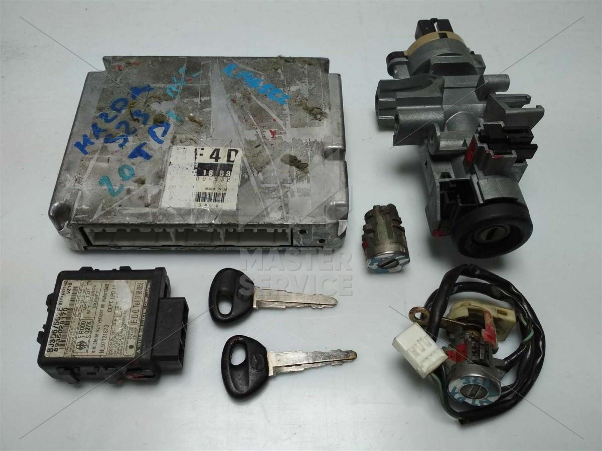 Блок управления двигателем 2.0 для Mazda 323 1998-2003 2758005380, RF4D18881