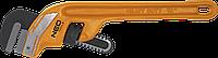 "Ключ трубный Stillson изогнутый, 250 мм, 10"" 02-113 Neo, фото 1"