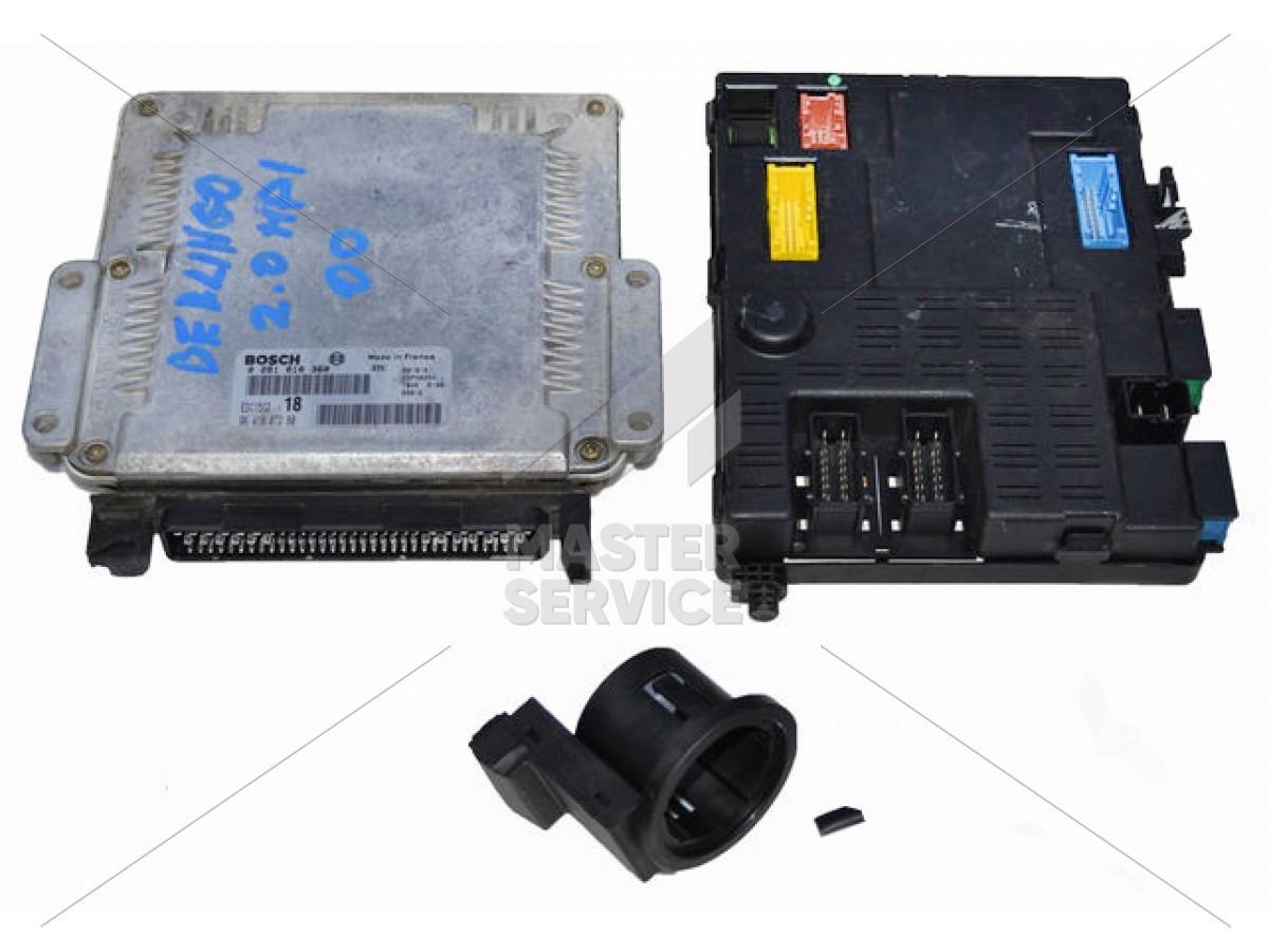Блок управления двигателем 2.0 для Citroen BERLINGO 1996-2008 0281010360, 193875, 9641607280