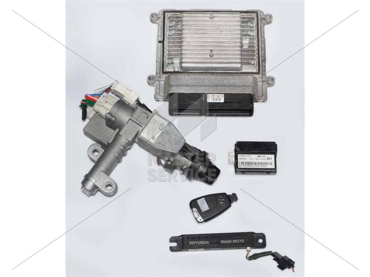 Блок управления двигателем 2.0 для Hyundai Sonata NF 2004-2009 3910025301