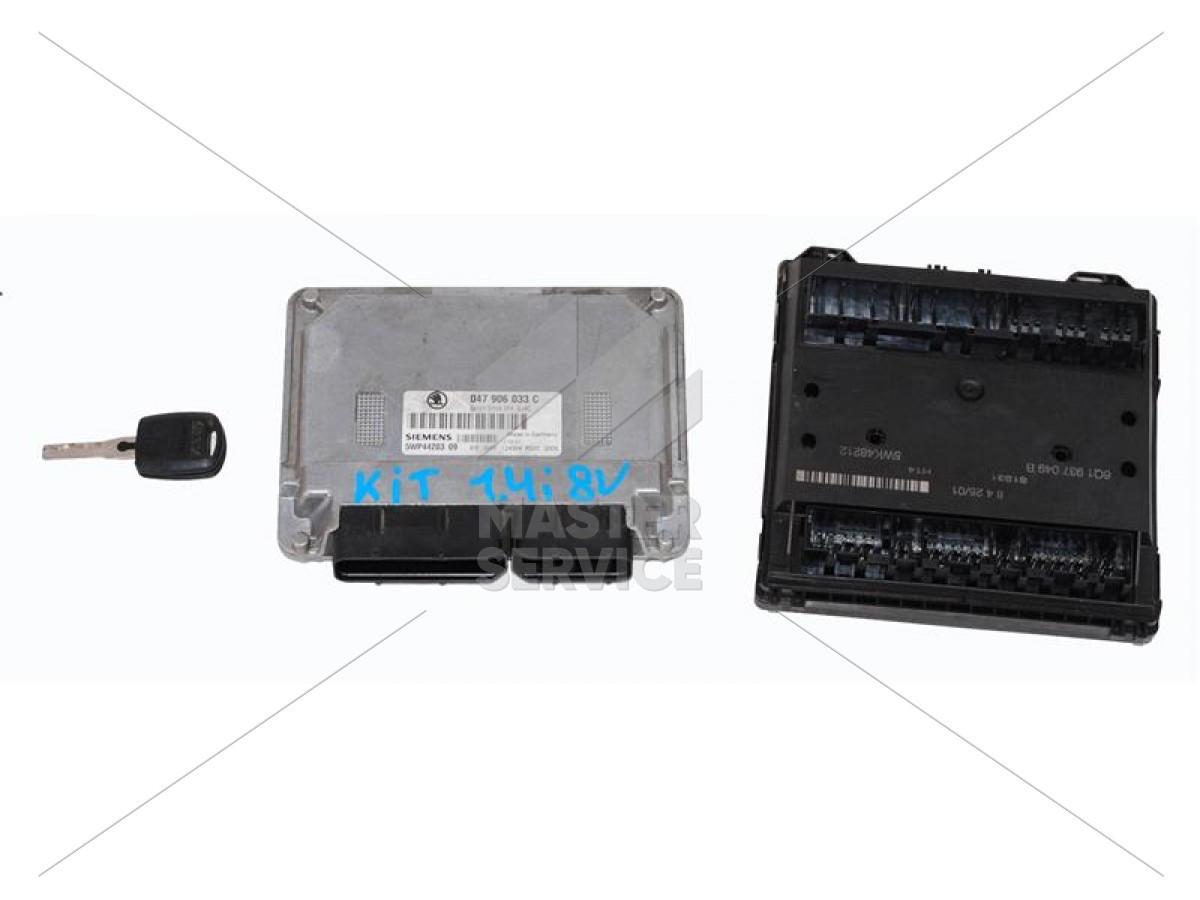 Блок управления двигателем 1.4 для Skoda FABIA 1999-2007 047906033C, 5WP4420309