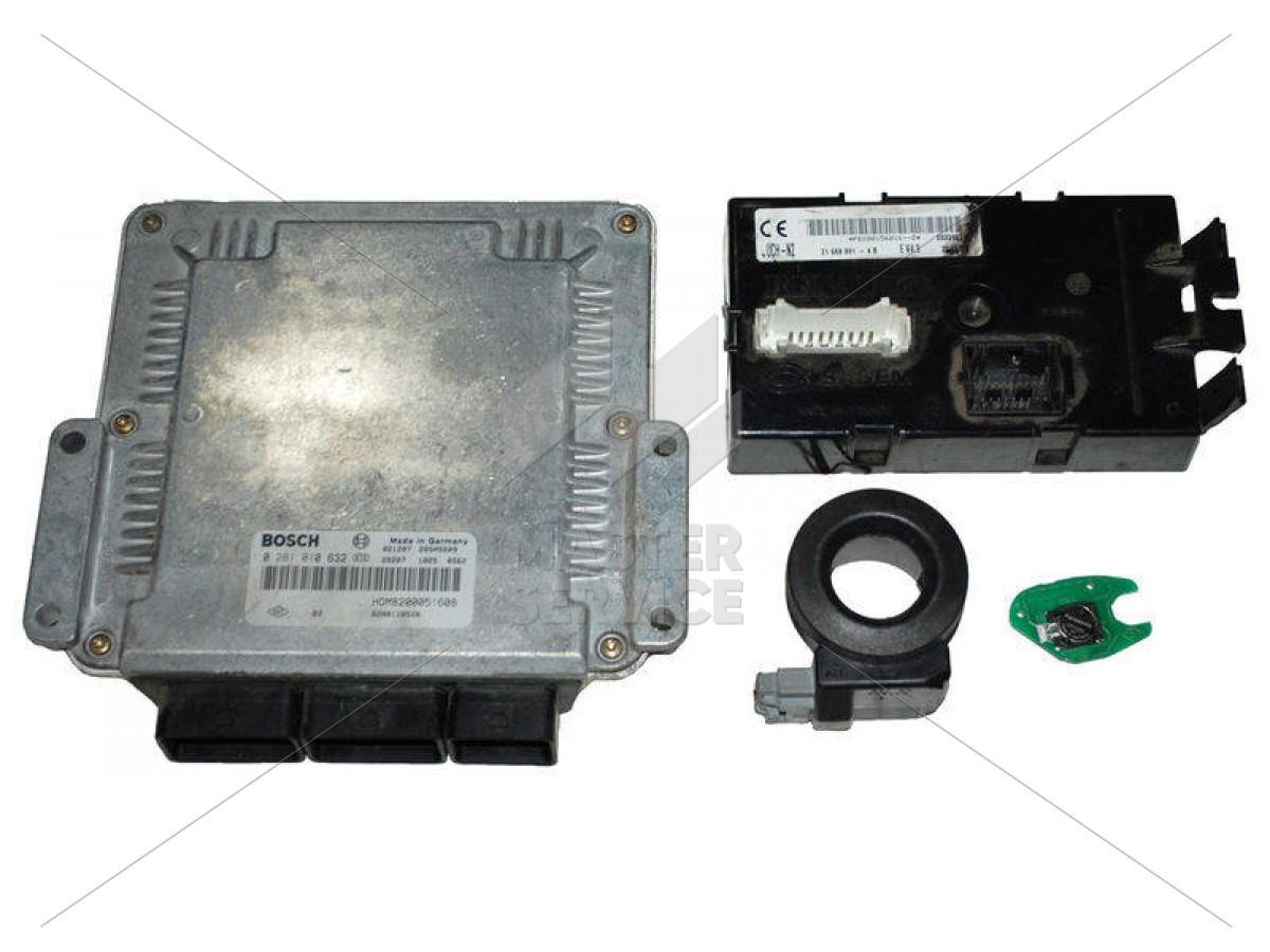 Блок управления двигателем 1.9 для RENAULT Trafic 2000-2014 0281010632, 8200051600, 8200051608, 8200118526, 8200204836, 8200771821