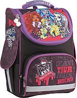 Школьный анатомический каркасный ранец для девочки 501 Monster High‑1, фото 1