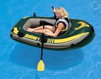 Одноместная надувная лодка Seahawk 1, Intex 68345